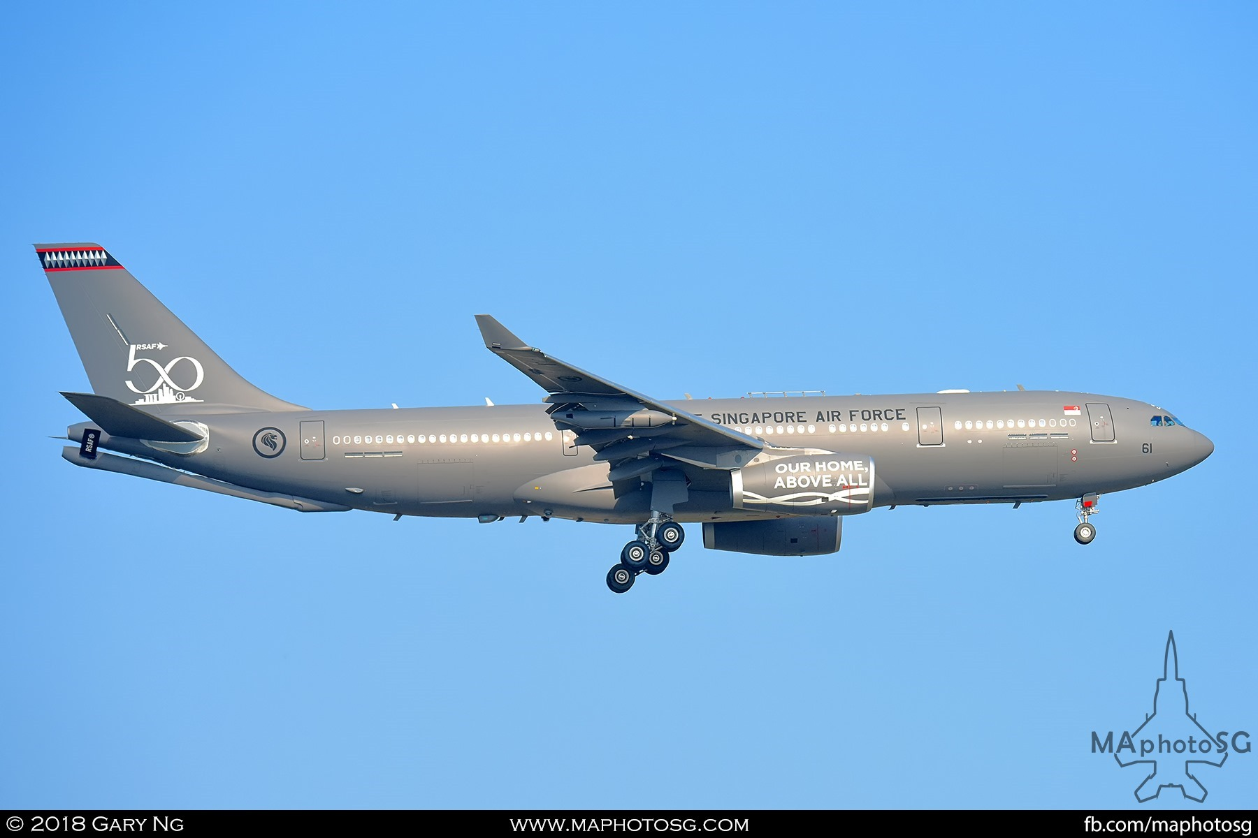 Republic of Singapore Air Force A330-MRTT (761)