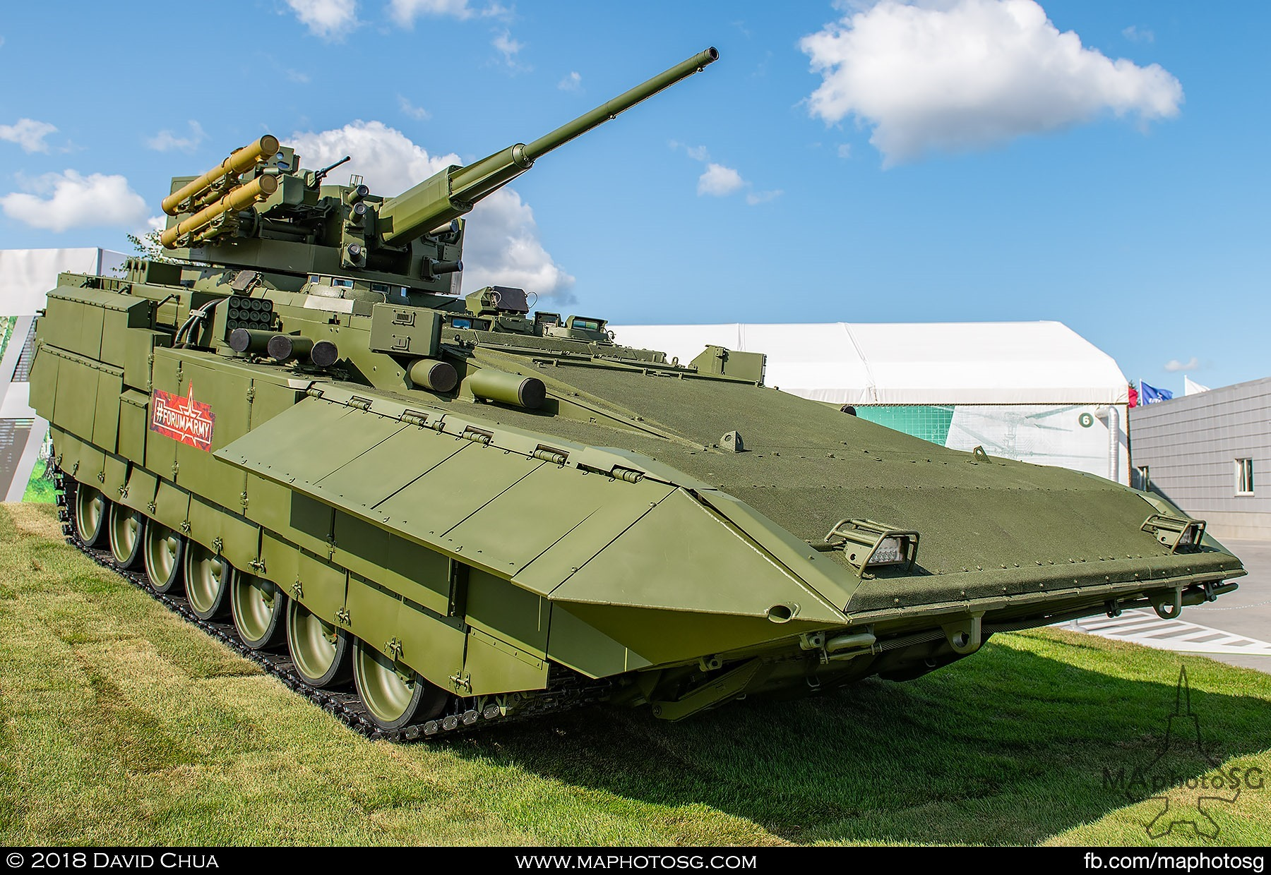 "03. T-15 Armata Infantry Fighting Vehicle with 57mm Cannon and ATM 9M120 ""Ataka"""