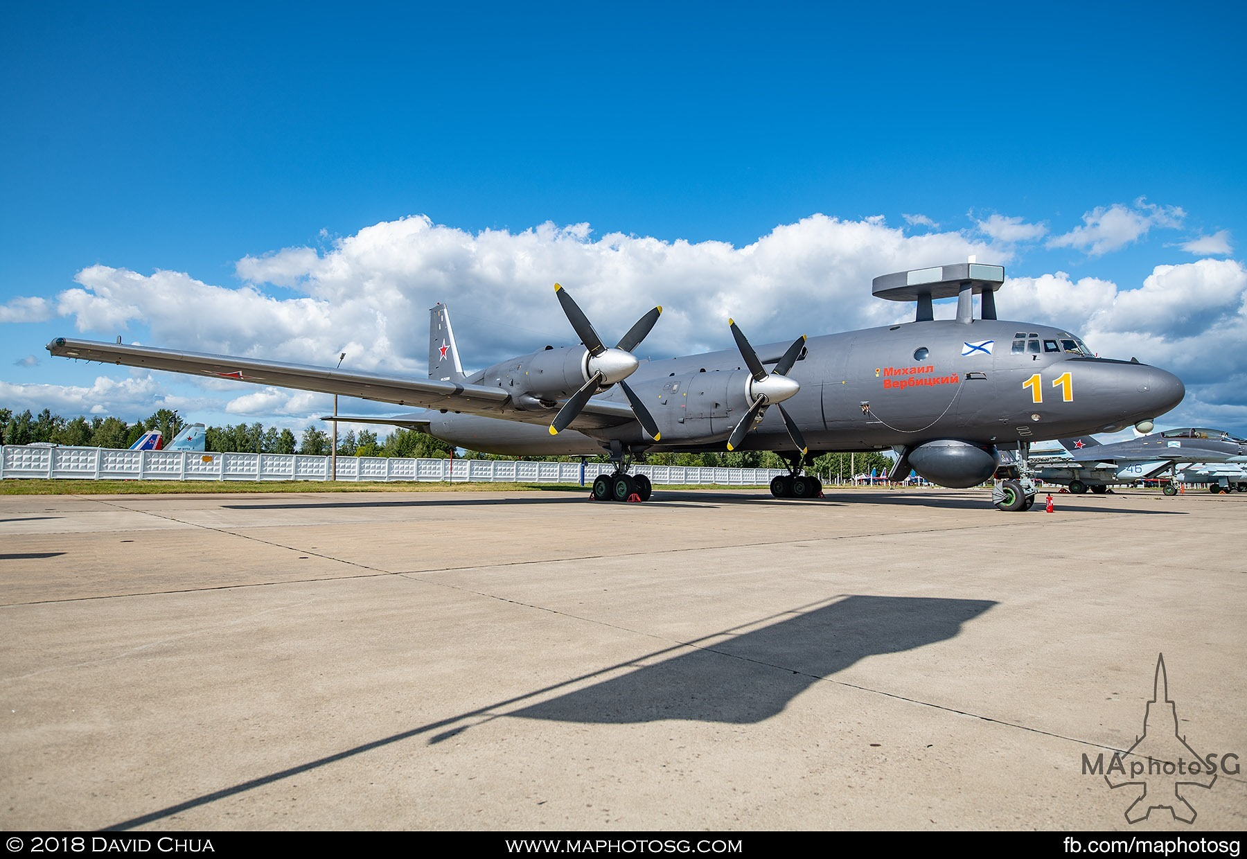 23. Ilysushin Il-38n Anti Submarine aircraft