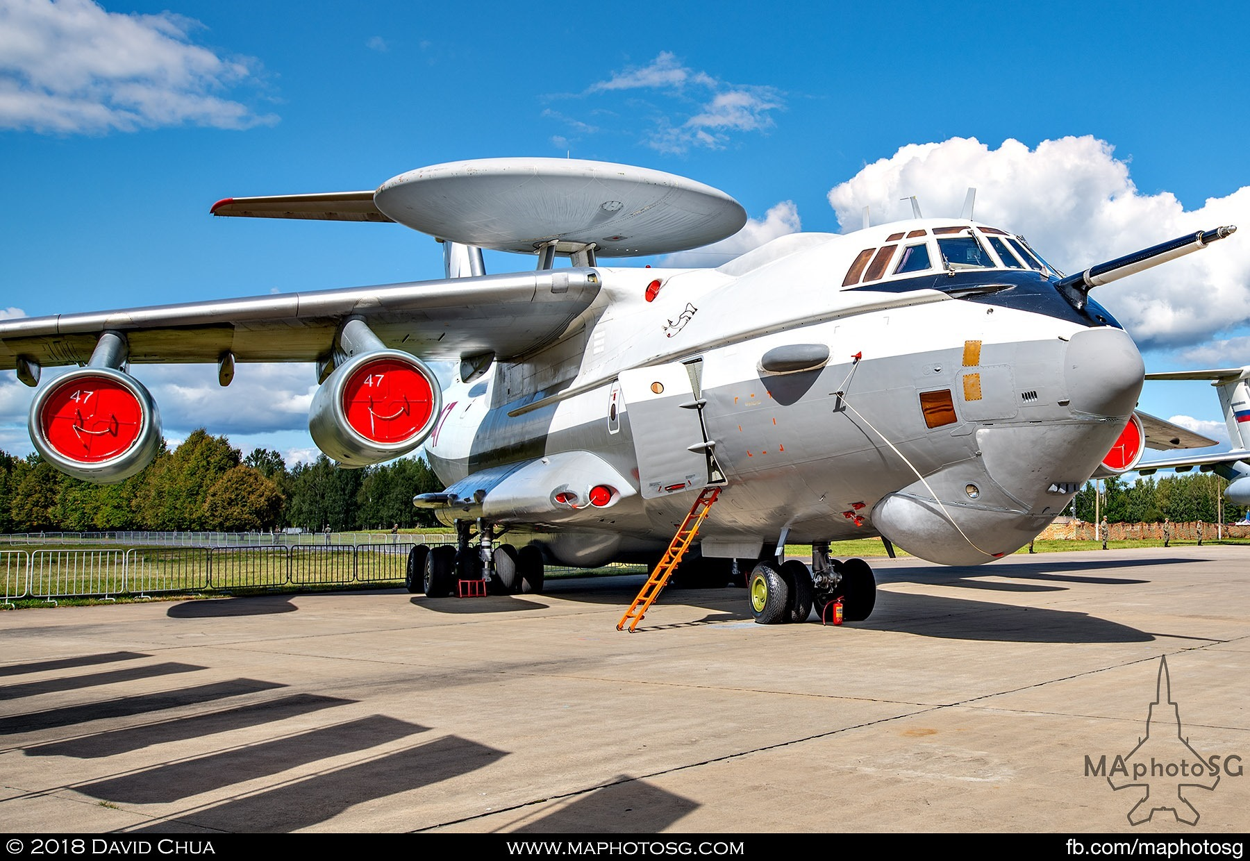 24. Beriev A-50u Airborne Early Warning and Control aircraft