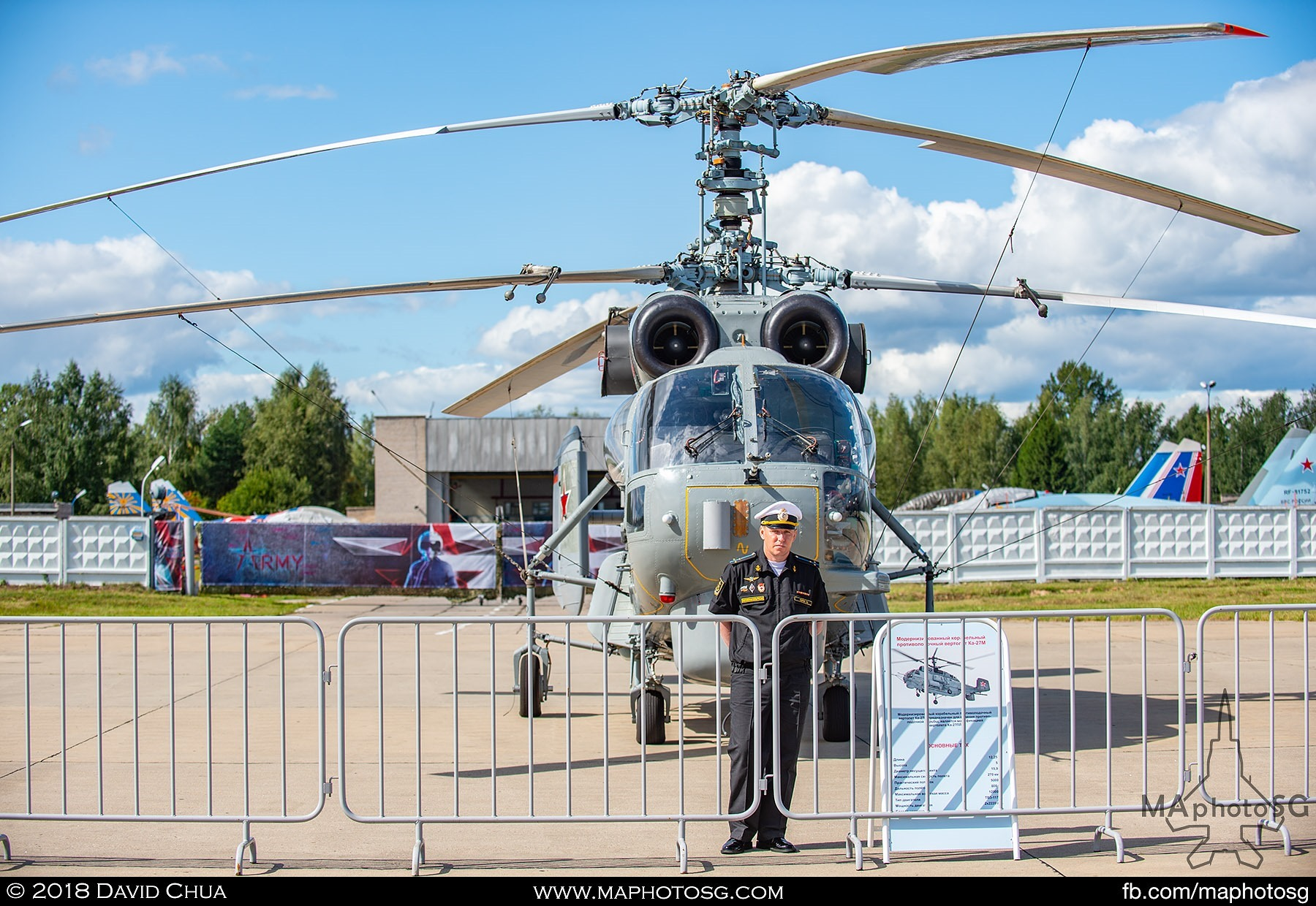 27. Pilot of the Ka-27m Helix helicopter