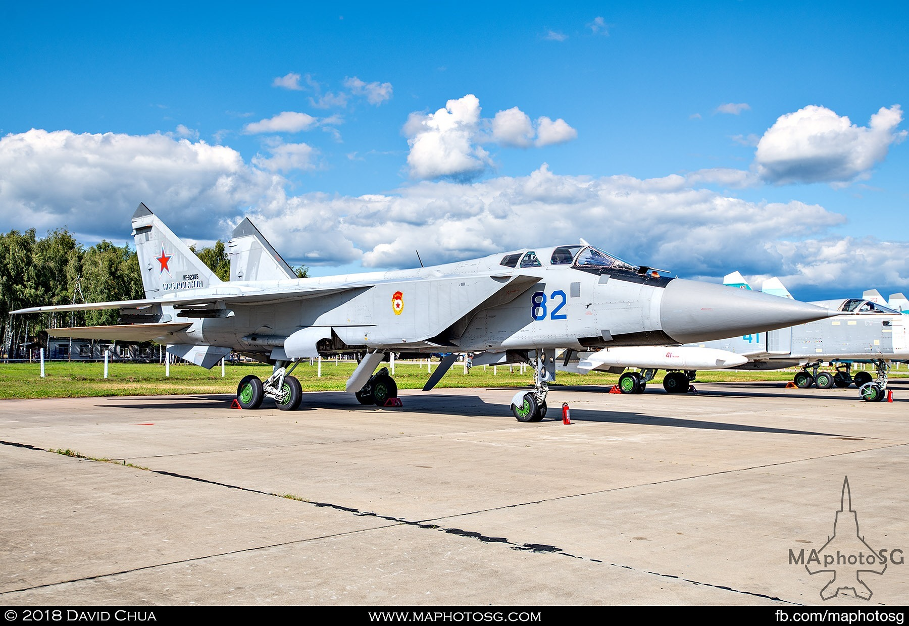 "29. Russian Air Force Mikoyan MiG-31bm ""Foxhound"" interceptor"