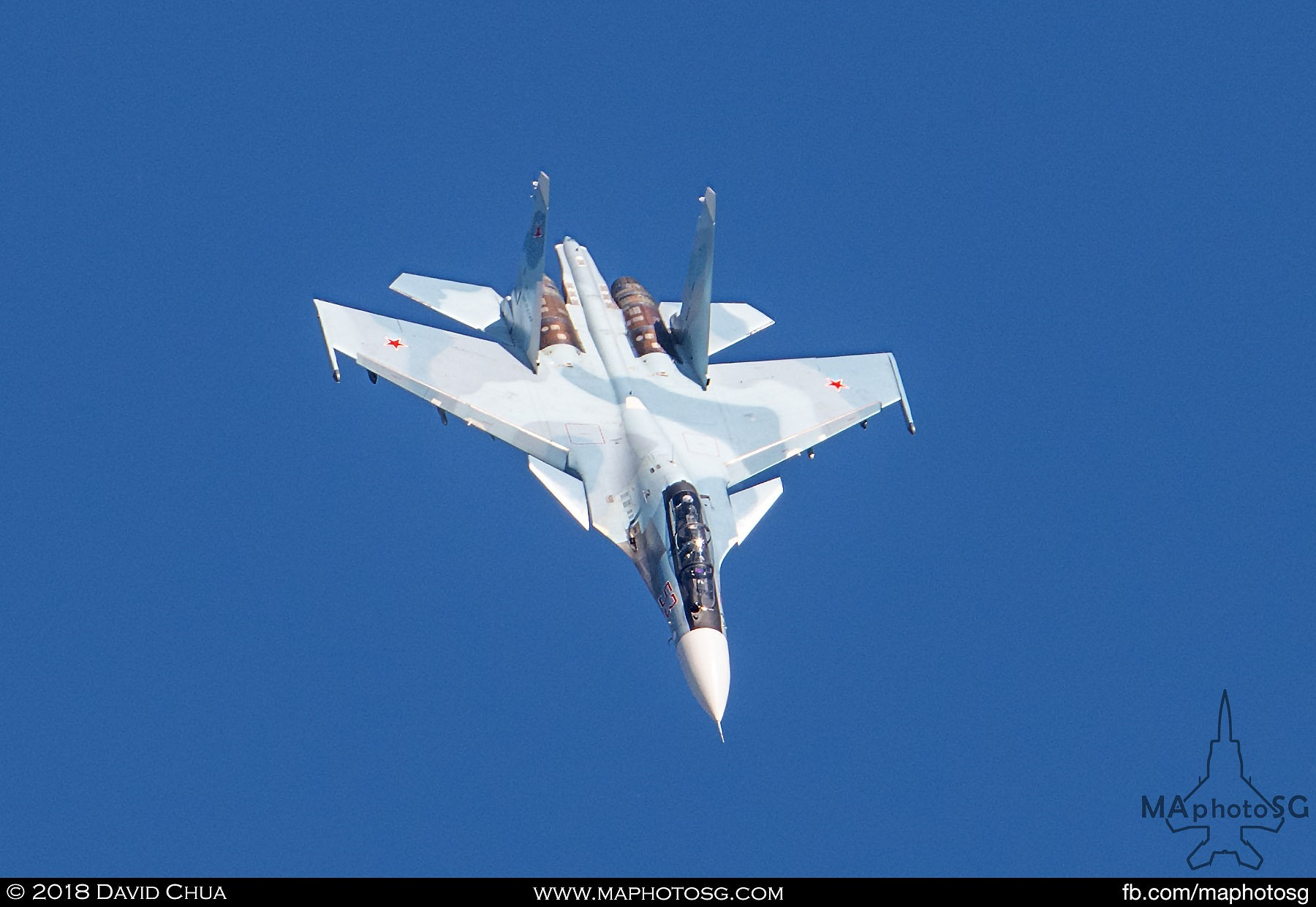 "40. Russian Air Force Su-30sm ""Flanker"" aerial display"