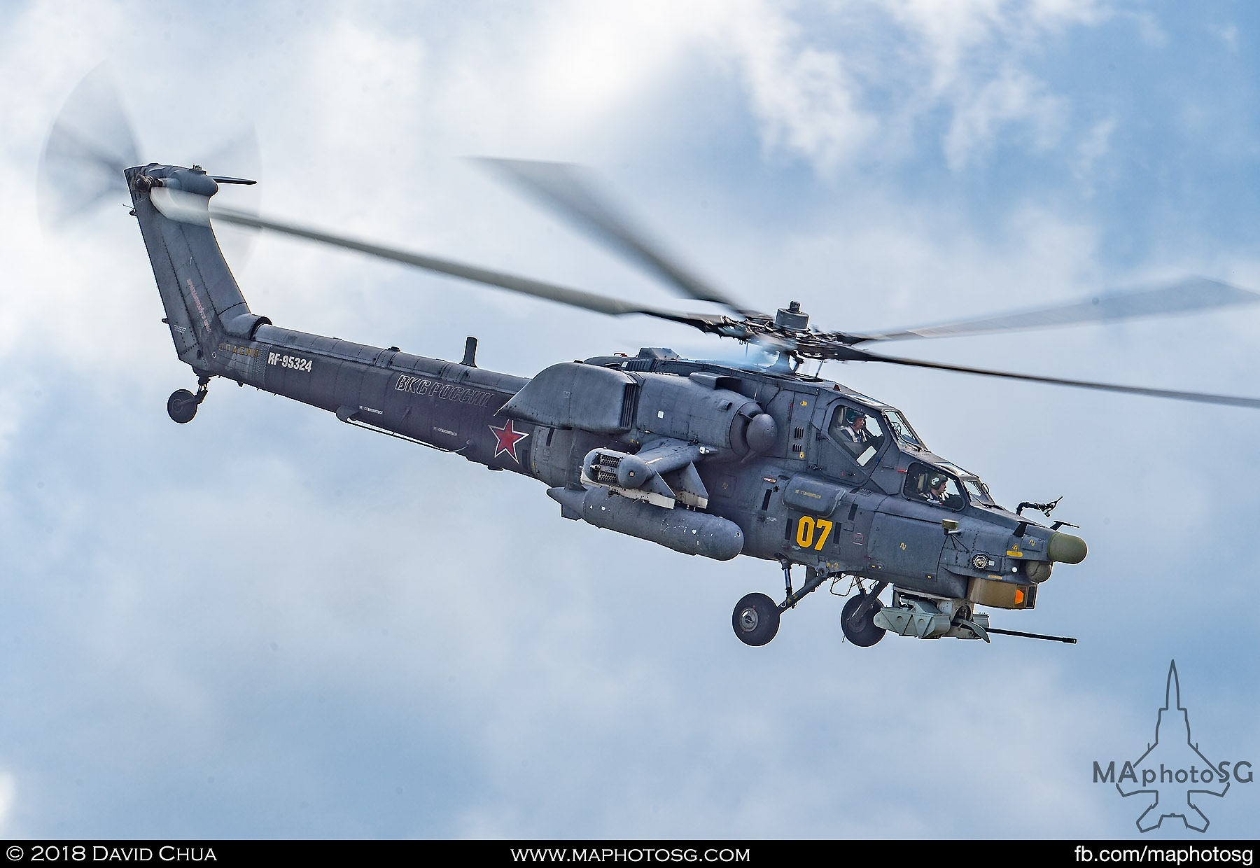 "46. Side view of the Mi-28n ""Night Stalker"" attack helicopter"
