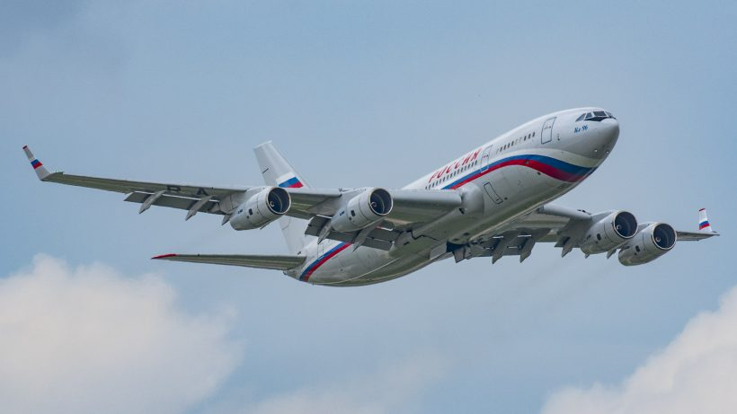 Russian Air Force Il-96