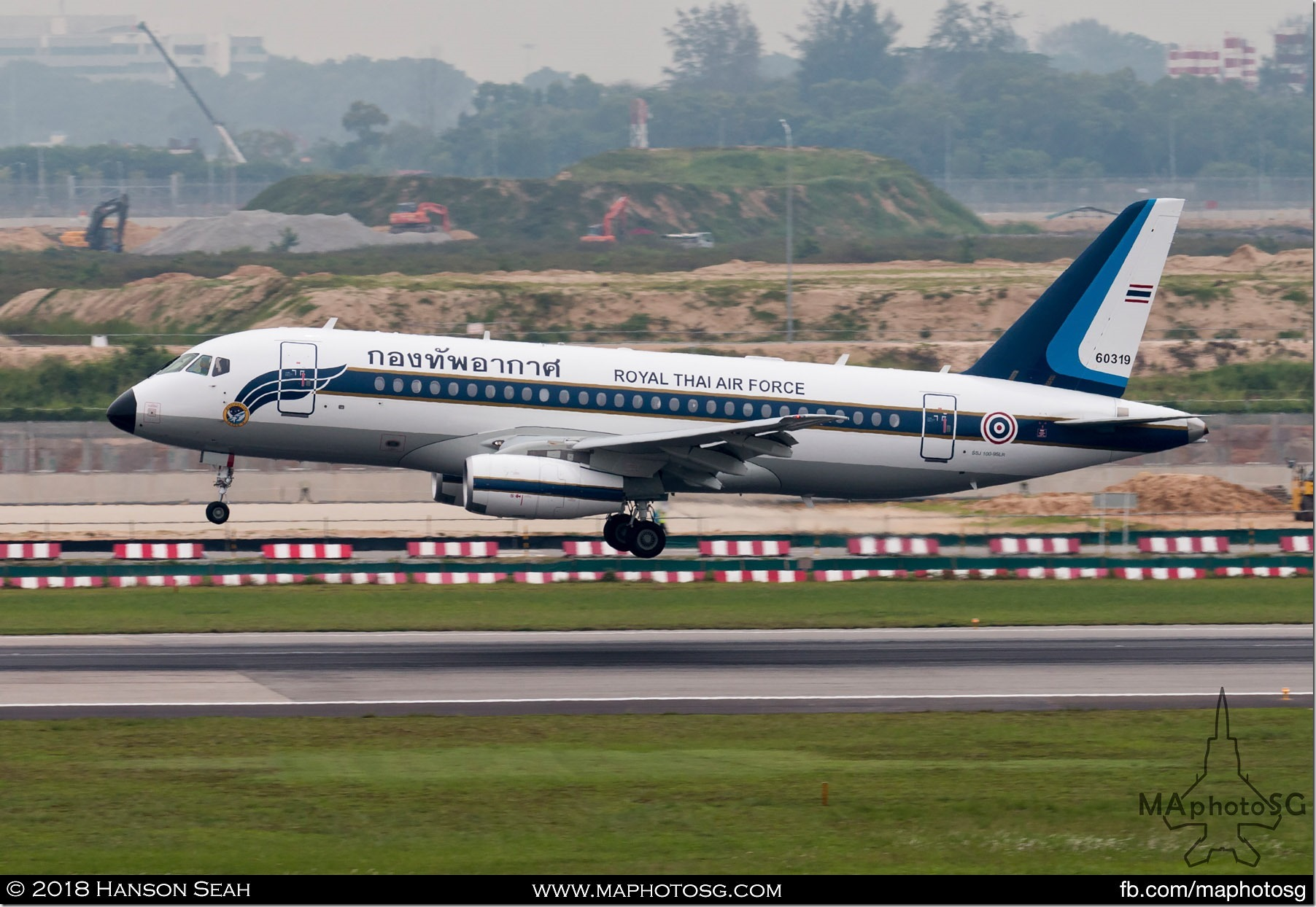07. Royal Thai Air Force Superjet SSJ100