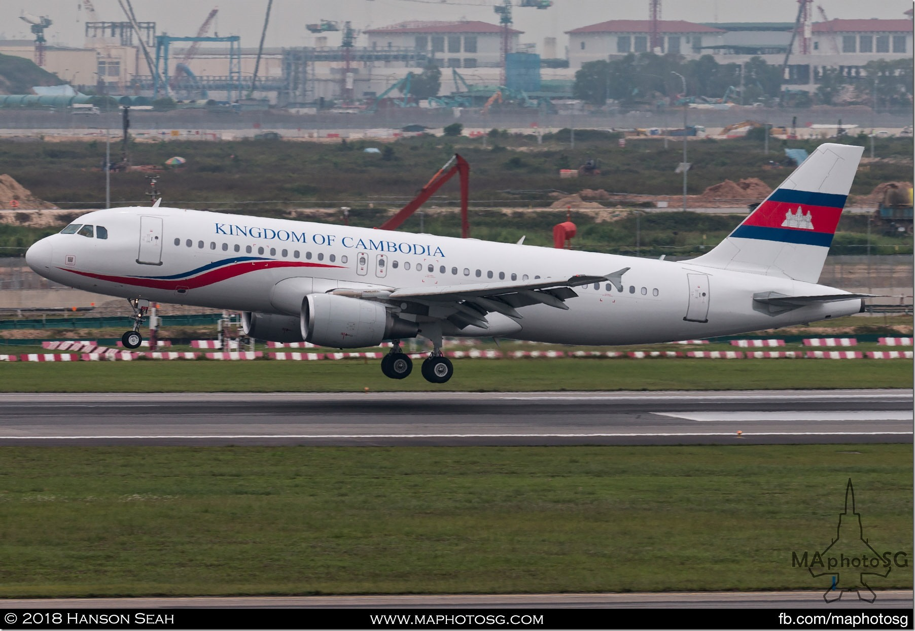 08. Kingdom of Cambodia Airbus A320