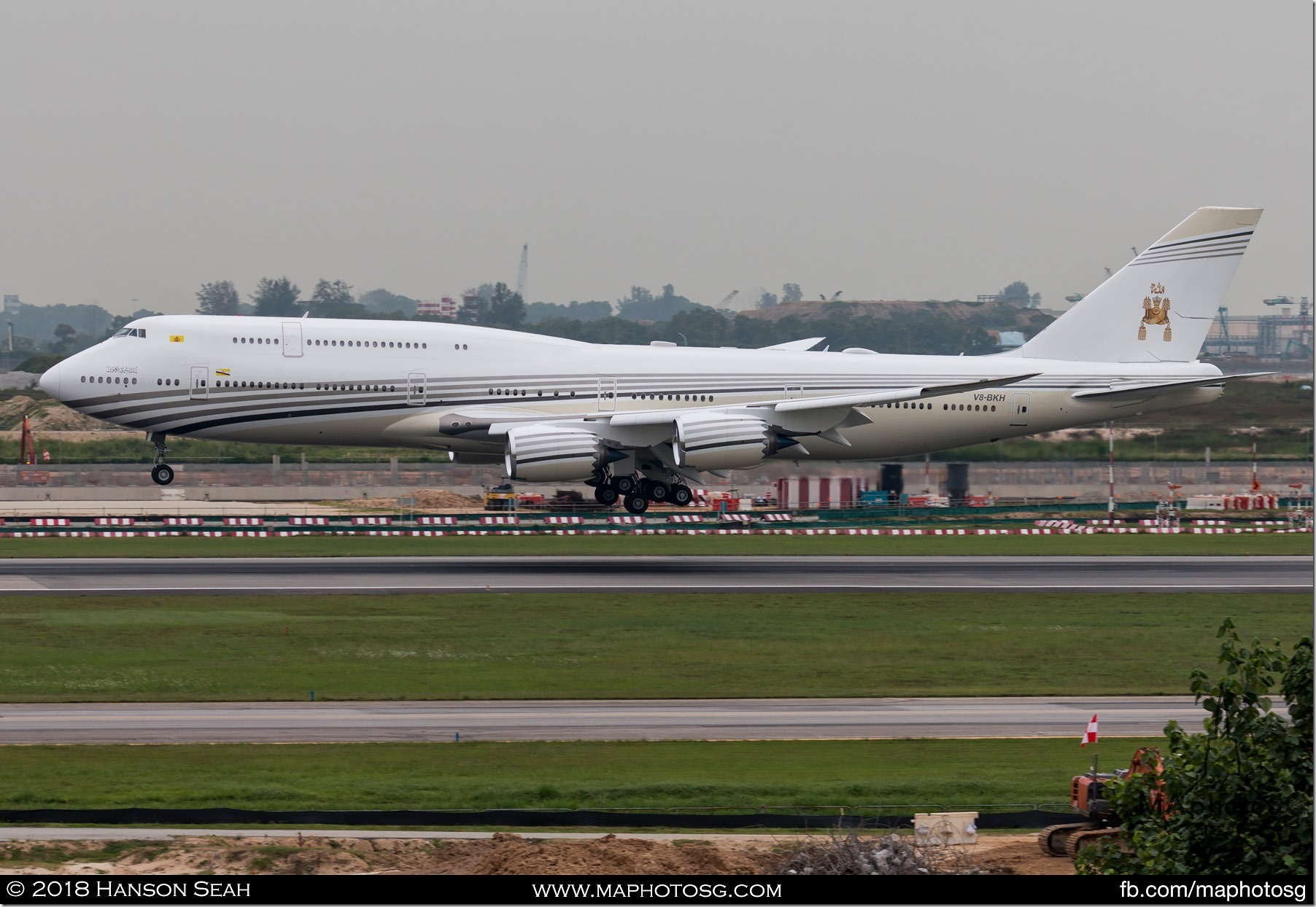 09. Brunei Government Boeing 747
