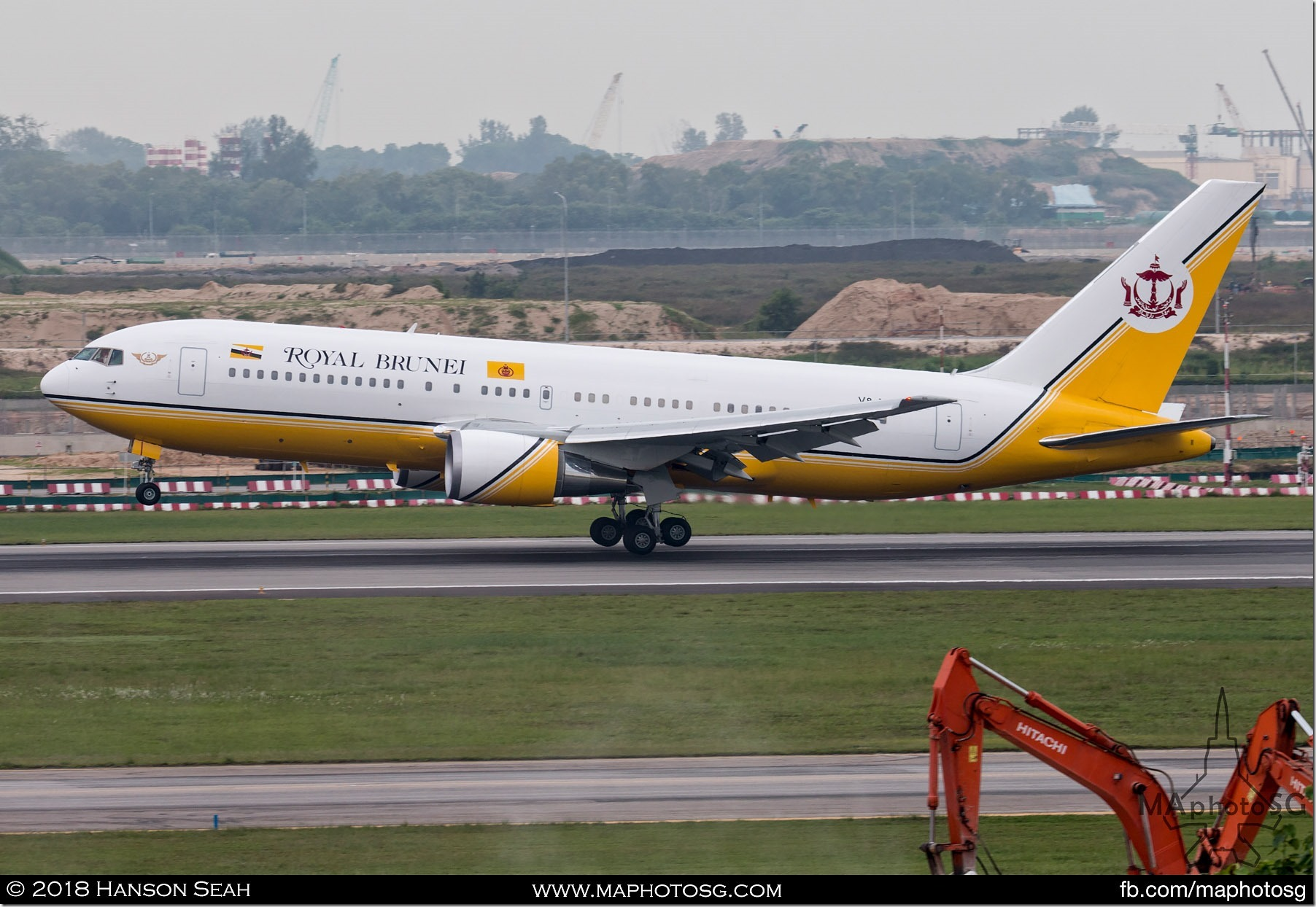 12. Brunei Government Boeing 767