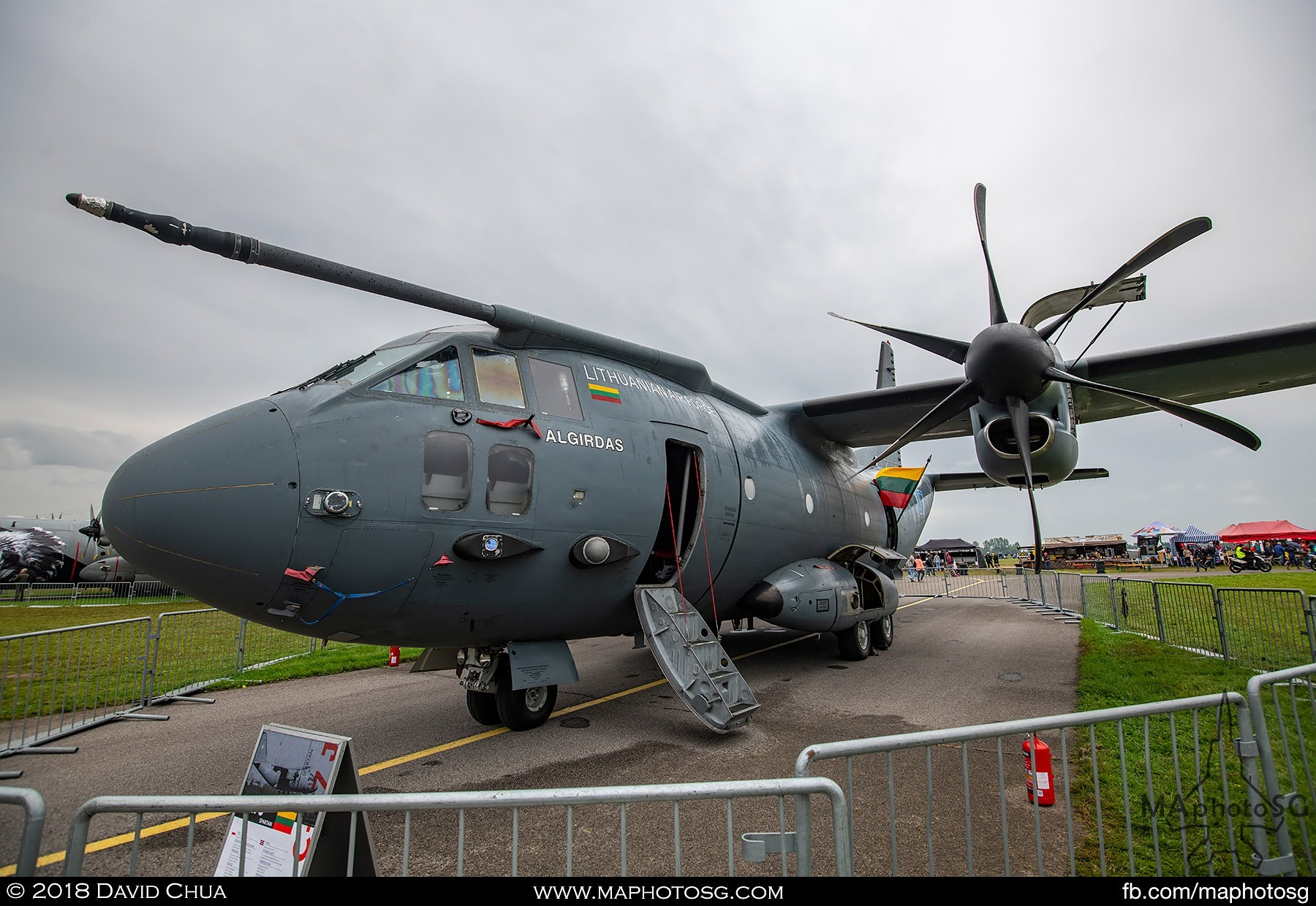 10. Lithuanian Air Force Alenia C-27J Spartan