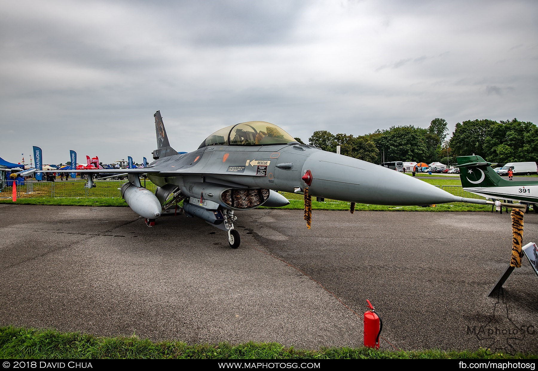15. Royal Netherlands Air Force F-16B MLU Fighting Falcon J-882