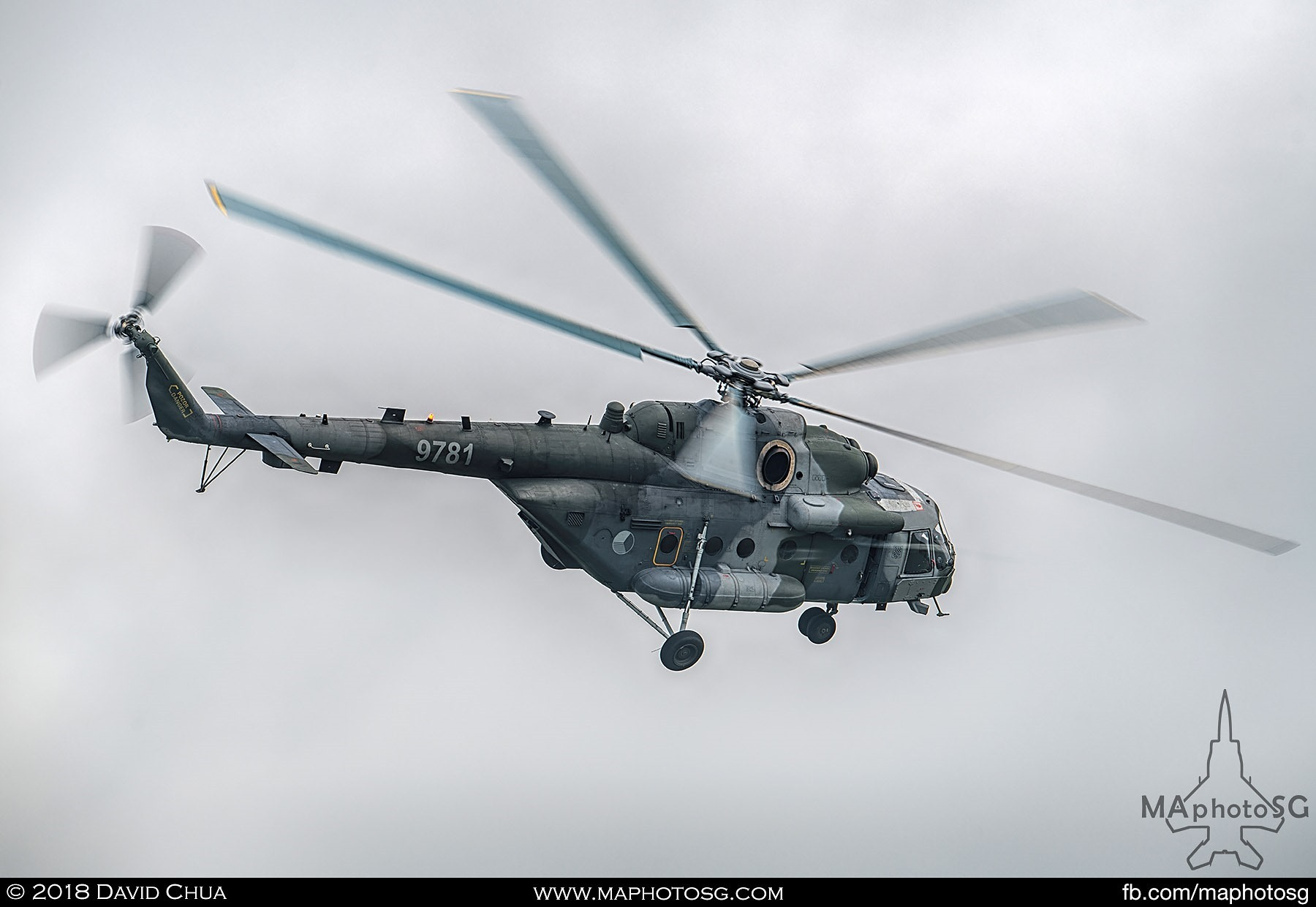 21. Czech Air Force Mil Mi-171