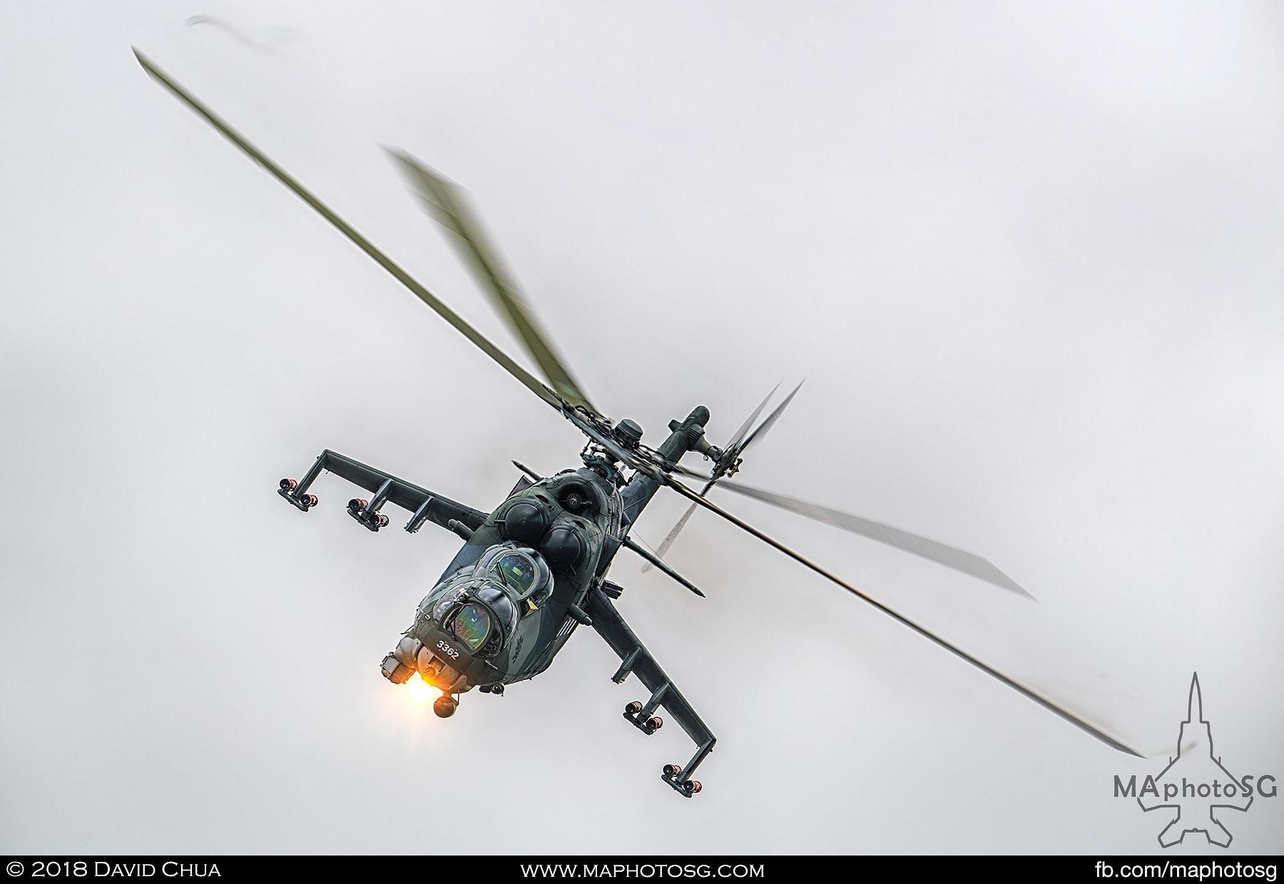 22. Czech Air Force Mil Mi-35 Hind