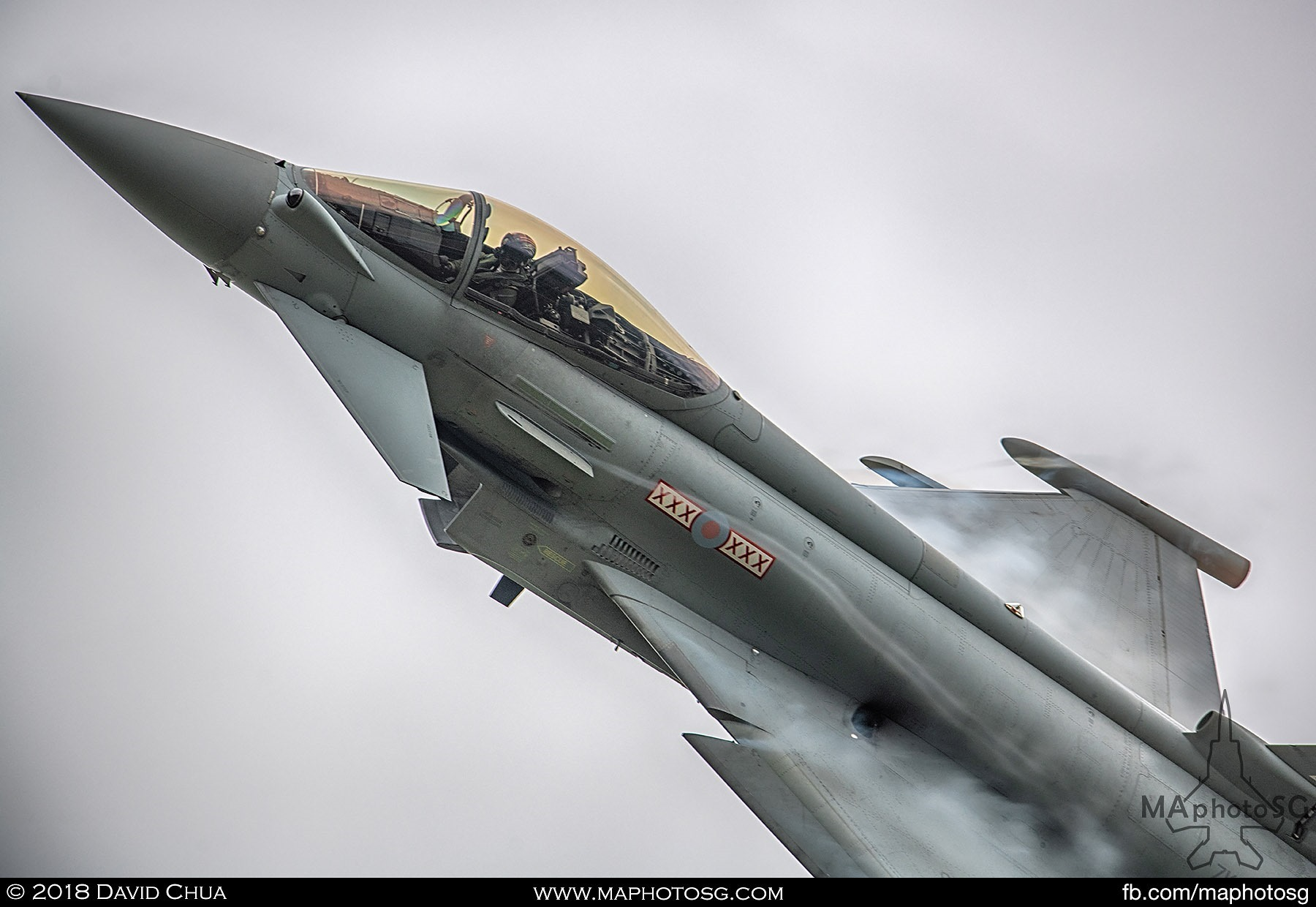 35. Pilot of the Royal Air Force Eurofighter Typhoon