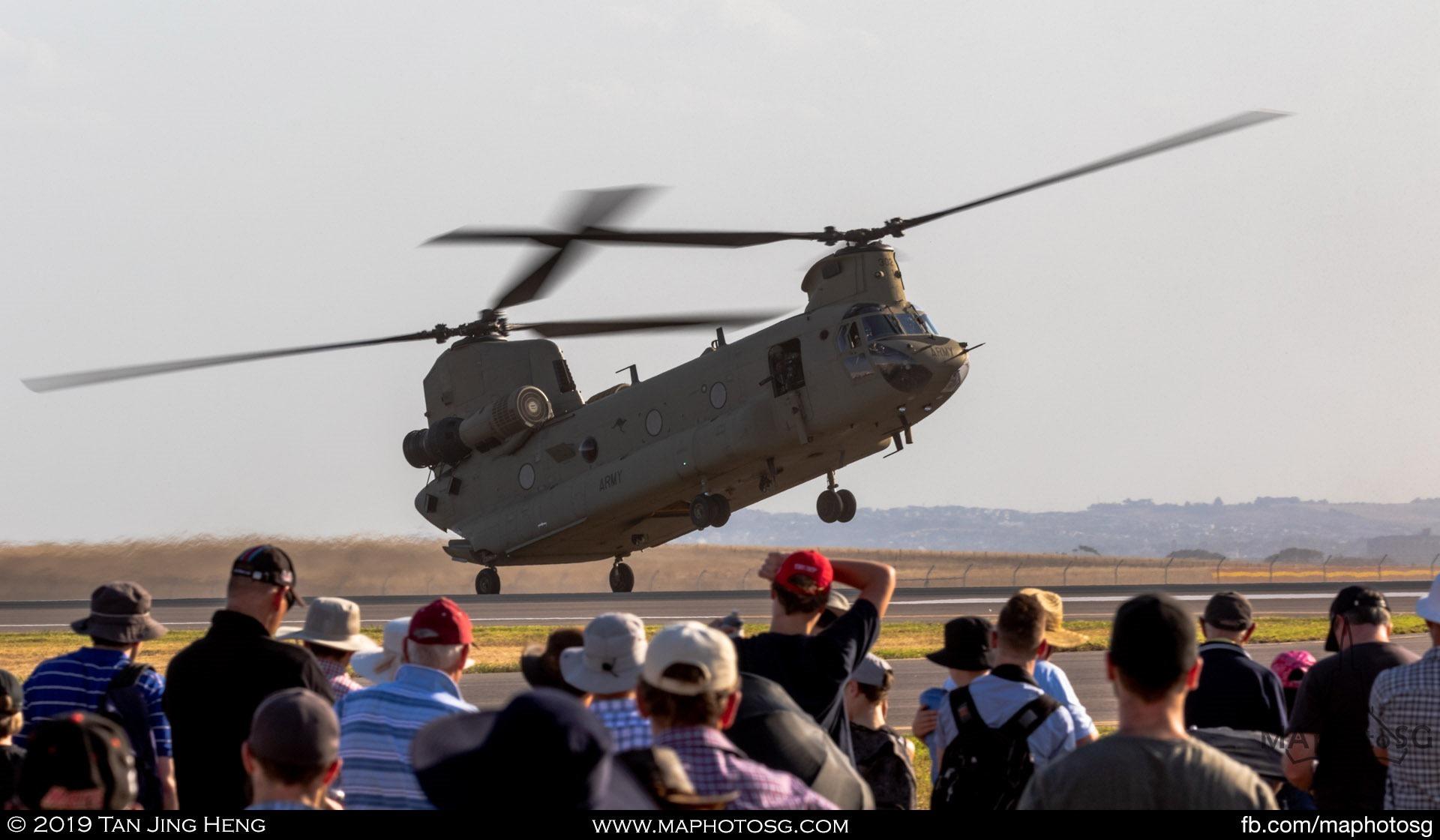 RAAF CH-47 Chinoook