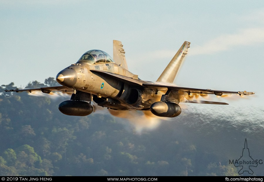 RMAF F/A-18 Hornet
